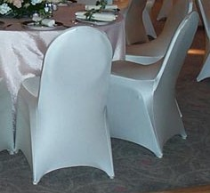 *Spandex Chair Cover* White, Ivory, Silver, Lt Pink, Fuschia, Lime,  Olive Gold, Hunter, Red, Yellow, Orange, Turquoise, Royal Blue, Purple,  Copper,